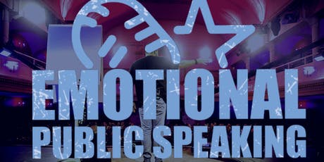 1. Emotional Public Speaking Masterstage Tickets