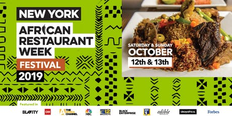 African Restaurant Week Festival 2019  - Come Enjoy the Best of Africa tickets