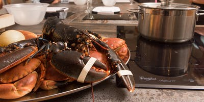 Crabs and Lobsters Wine Wednesday in the Kitchen