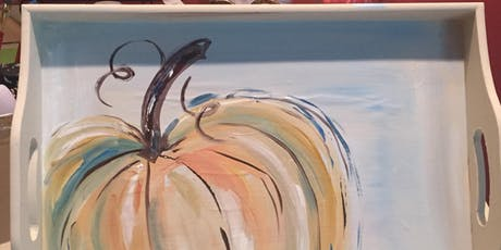 Painted Autumn Tray tickets