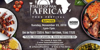Taste of Pan Africa Baytown, Tx