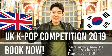 UK K-POP Competition 2019 tickets