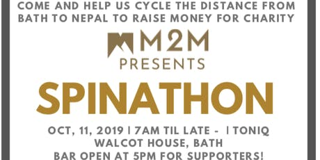 M2M Presents - SPINATHON tickets