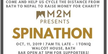 M2M Presents - SPINATHON tickets