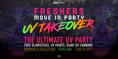 Surrey Freshers - Move In UV Party tickets