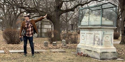 Rosehill Cemetery tour with author Adam Selzer (Sept 22)