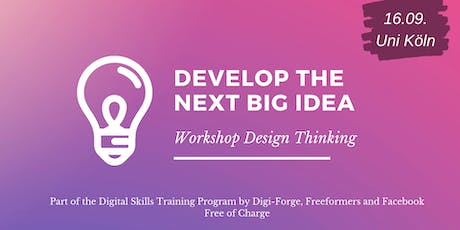 Generate And Test New Ideas - Design Thinking For Entrepreneurs Tickets