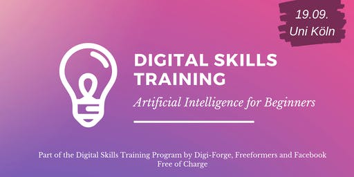 Digital Skills Training - Artificial Intelligence for Beginners