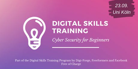 Digital Skills Training - Cyber Security for Beginners Tickets