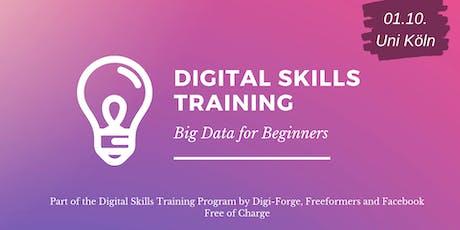 Digital Skills Training - Big Data for Beginners tickets