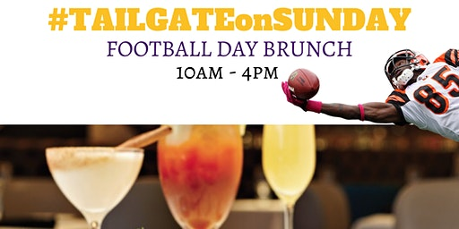 #TAILGATEonSUNDAY || FOOTBALL DAY BRUNCH