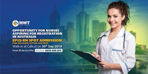 Golden Opportunity for Nurses who wish to work in Australia!