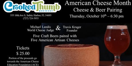 Cheese & Beer Pairing tickets