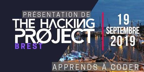 The Hacking Project Brest automne 2019 (présentation gratuite) billets