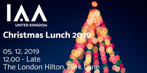 The IAA UK Christmas Lunch 2019