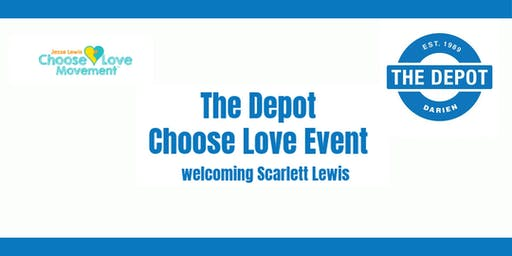 The Depot Choose Love Event featuring Scarlett Lewis