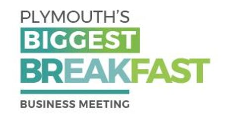 Plymouth's Biggest Breakfast Business Meeting tickets