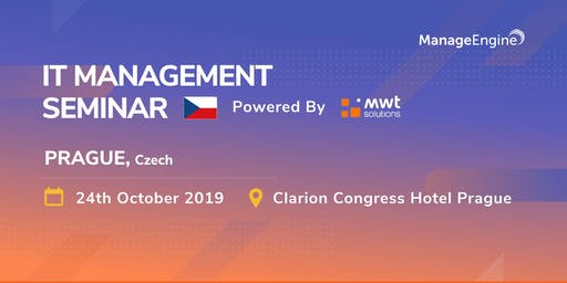 ManageEngine IT Management Seminar - Czech