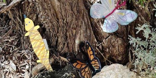 Butterfly & Bobtail finger puppets