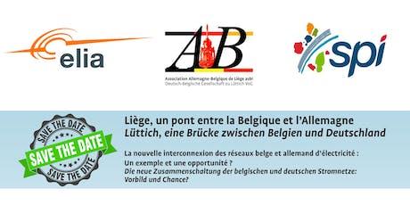 """Présentation """"Liège, un pont entre la Belgique et l'Allemagne"""" billets"""
