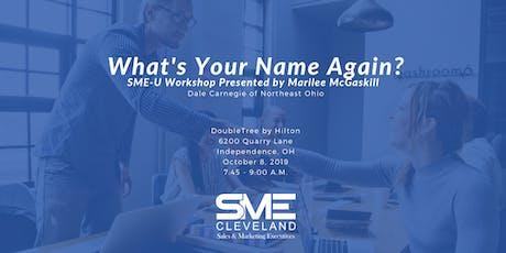 SME Cleveland SME-U Workshop with Dale Carnegie of Northeast Ohio tickets