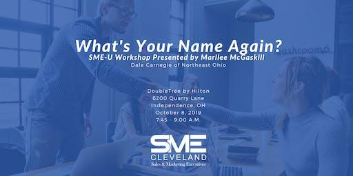 SME Cleveland SME-U Workshop with Dale Carnegie of Northeast Ohio