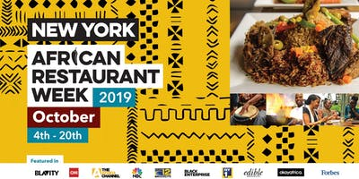 event image NY African Restaurant Week 2019