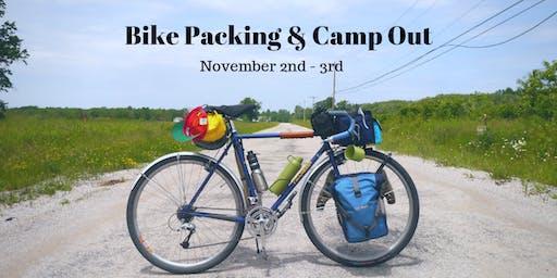 Bike Camping at Delaware State Park