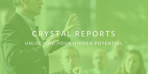 Crystal Reports - Level 1