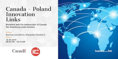 Canada - Poland Innovation Links tickets