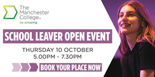 The Manchester College 16-18 Open Evening - Welcomb Street campus