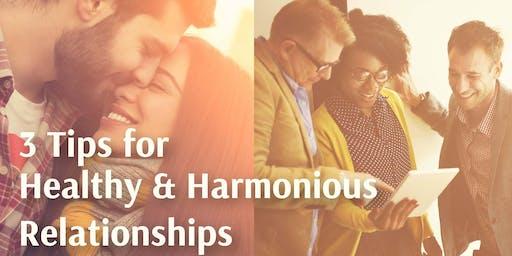 Managing Personal & Professional Relationships Seminar in Hill of Tara