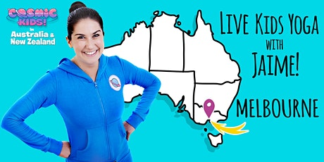 Live Kids Yoga with Jaime in Melbourne tickets