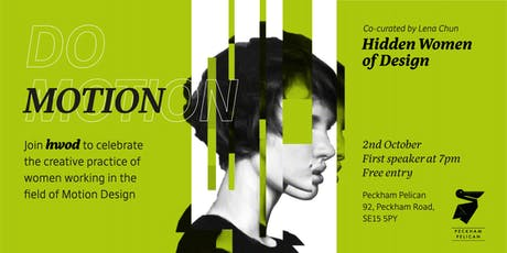 Hidden Women of Design DO MOTION  tickets