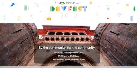 GDG Pune DevFest 2019 tickets