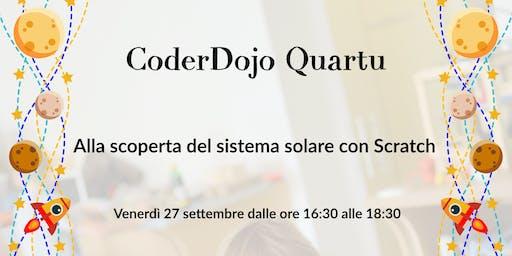 CoderDojo Quartu: Alla scoperta del sistema solare con Scratch