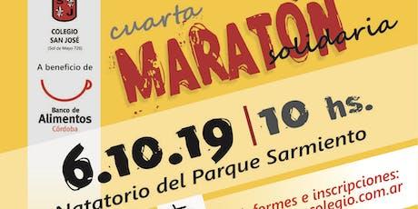 Cuarta  Maratón Solidaria Colegio San José Secundario entradas