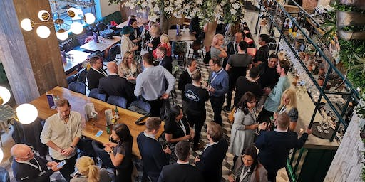 Happy Hour Networking October - The Stone Grill, Central Manchester - Sponsor to be Announced