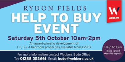 Help To Buy Event | Rydon Fields