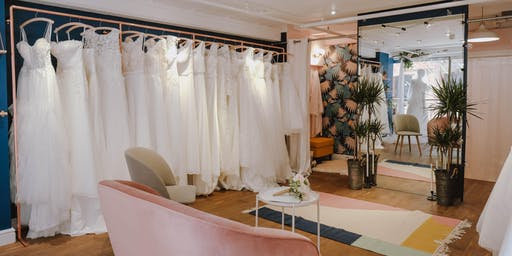 Wedding Dress Sample Sale in Central London From £50