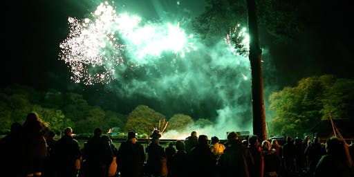The Rudyard Lake Firework & Light Show