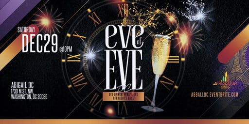 Eve of Eve DC - Eve of New Year's Eve Afrobeats Ball