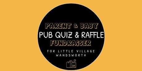 Little Village Wandsworth Pub Quiz and Raffle tickets