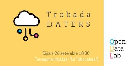 """26/9 Primera trobada de la comunitat """"Daters"""" de Tarragona entradas"""