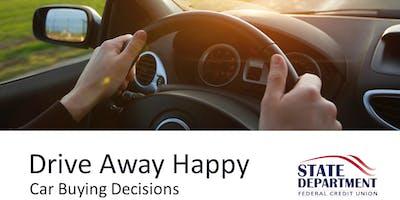 Car Buying: Drive Away Happy