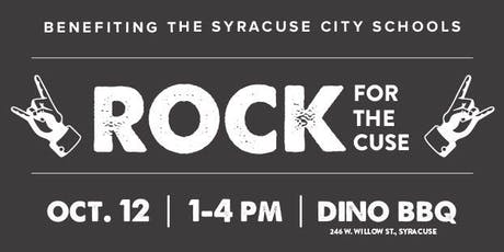 Rock For The Cuse tickets
