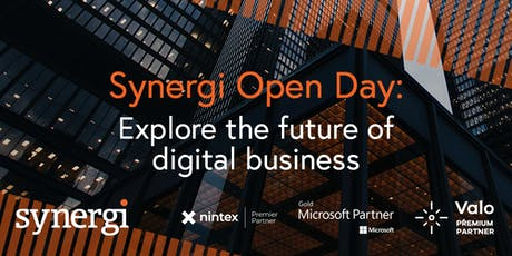 Synergi Open Day: Explore the future of digital business tickets
