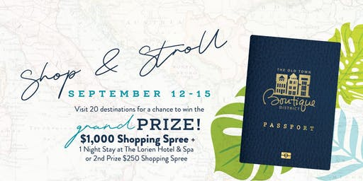 Shop & Stroll Vip Experience