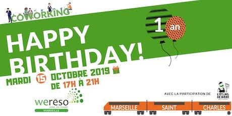 Invitation : 1 an de coworking dans la gare Saint-Charles billets