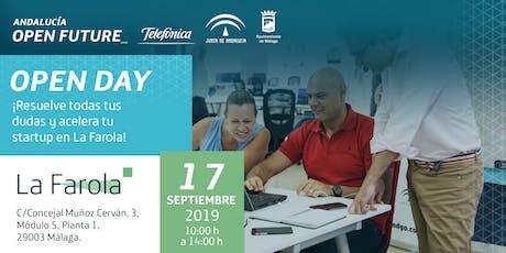 Open Day en La Farola: puerta abierta al emprendimiento tickets